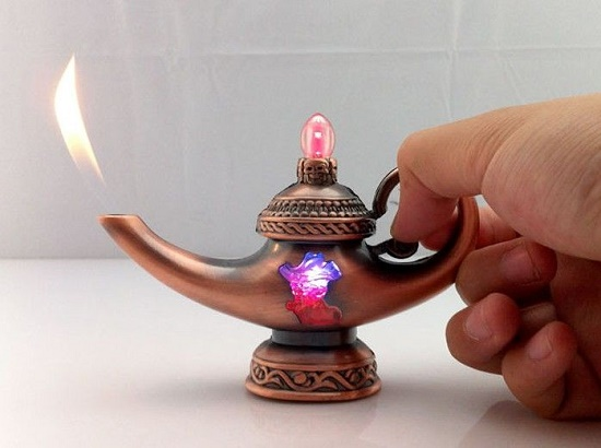 Encendedor lampara de aladin