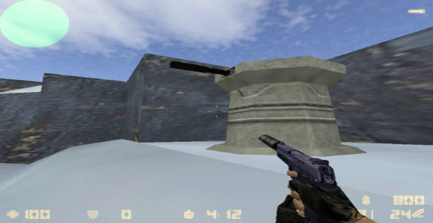 Mapa Counter Strike de_hoth