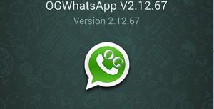 Ultima version compatible de OGWhatsapp dos Whatsapp al mismo tiempo en tu Telefono Dos numeros